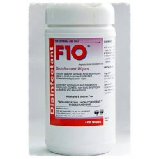 F10 Disinfectant Wipes 100