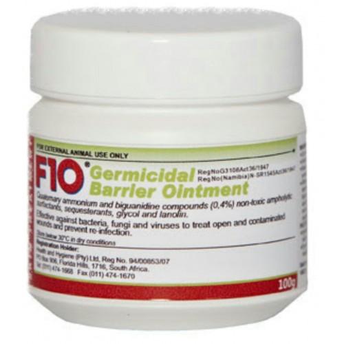 F10 Germicidal Barrier Cream 100g